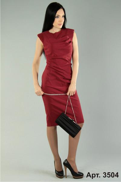 с чем носить бордовое платье фото