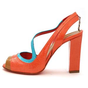 С чем носить коралловые туфли — фото модных