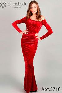 Английское красное платье.  Платья из Англии.