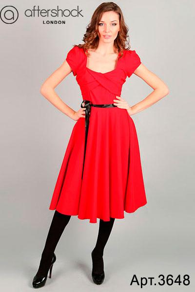 Маленькое красивое красное платье